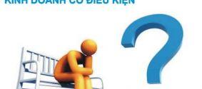 Ngành nghề kinh doanh có điều kiện