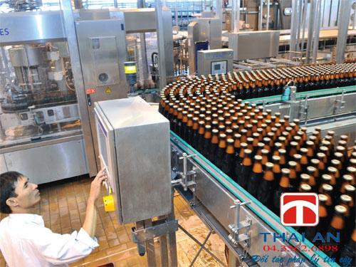 Sản xuất rượu công nghiệp