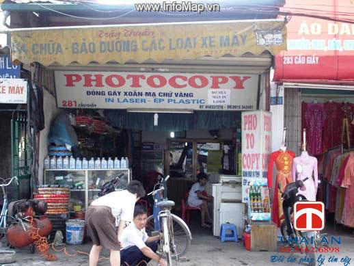 Mở cửa hàng photocopy có cần xin giấy phép?