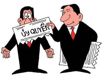 ủy quyền xử lý vi phạm quyền sở hữu công nghiệp